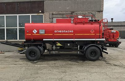 Прицеп-бензовоз объемом 8000 литров